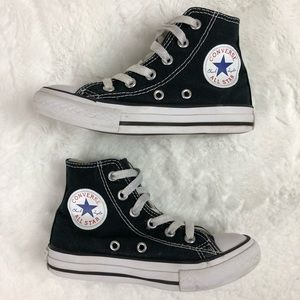 Converse Kids Black High Tops